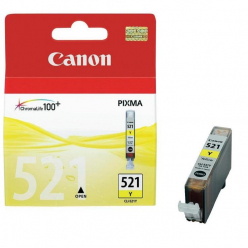 CANON 2936B001 Tusz Canon CLI521Y yellow iP3600/iP4600/MP540/MP620/MP630/MP980