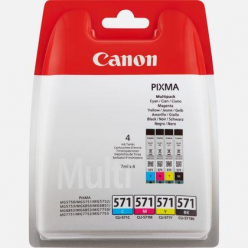 CANON 0386C005 Tusz Canon CLI-571 C/M/Y/BK MULTIPACK Blister without Security