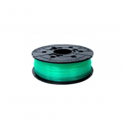 Filament  XYZ RFPLCXEU04G XYZ / PLA / CLEAR GREEN / 1,75 mm / 0,6 kg.(Junior/ Mini)