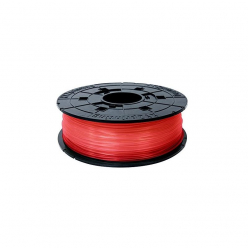 Filament  XYZ RFPLCXEU02A XYZ / PLA / CLEAR RED / 1,75 mm / 0,6 kg.(Junior/ Mini)