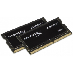 KINGSTON HX426S15IB2K2/32 Kingston HyperX Impact 32GB 2666MHz DDR4 CL15 SODIMM Kit of 2 HyperX Impact
