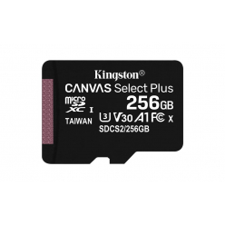 Karta pamięci Kingston 256GB micSDXC Canvas Select Plus 100R A1 C10 Card + ADP