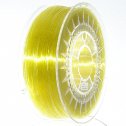 DEVILDESIG 05902280030348 Filament DEVIL DESIGN / PETG / Jasnożółty transparentny / 1,75 mm / 1 kg.