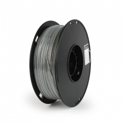 Filament  GEMBIRD 3DP-PS1.75-01-GR Gembird POLYMER GLOSSY Silk Grey 1,75mm 1kg