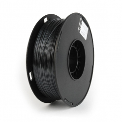Filament  GEMBIRD 3DP-PS1.75-01-BK Gembird POLYMER GLOSSY Silk Black 1,75mm 1kg