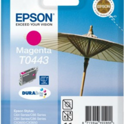 EPSON C13T04434010_exp. 1.2017 Tusz Epson T0443 magenta Stylus C64/66/66 photo Edition/84/84N/84WiFi/86,CX...