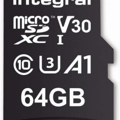 Karta pamięci Integral 64GB High Speed microSDXC card V30 UHS-I U3 100/30
