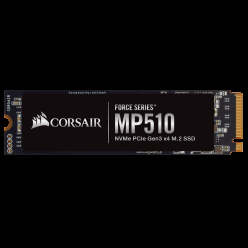Dysk SSD Corsair MP510 480GB M.2 NVMe PCIe Gen3 x4 3480/2000 MB/s