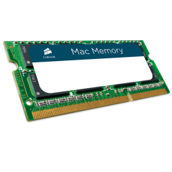 Pamięć Pamięć SODIMM Corsair 8GB 1333MHz DDR3 CL9 SODIMM Apple Qualified, Mac Memory