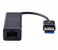 Adapter Dell USB 3.0 Ethernet (PXE) Adapter - Black