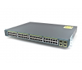 Switch  Cisco Catalyst 2960 Plus 48 10/100 PoE + 2 1000BT + 2 SFP LAN Base