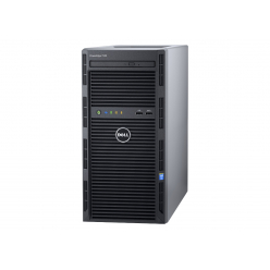 Serwer DELL PowerEdge T130 E3-1220v6 16GB 2x 1TB SATA 3,5'' cabled ENT H330 DVD-RW 3yNBD