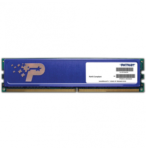 Pamięć Patriot 4GB 1333MHz DDR3 Non ECC CL9 DIMM HS