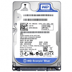 Dysk HDD  WD Blue, 2.5'', 750GB, SATA/600, 5400RPM, 8MB cache