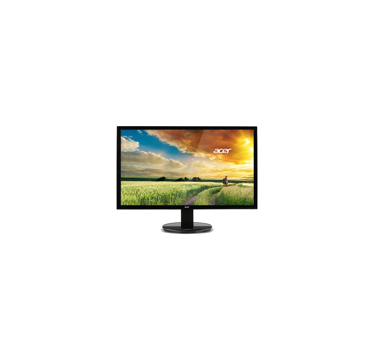 Monitor  Acer 61cm (24'') Wide, 16:9 4 sides borderless IPS LED 6ms 100M:1 ACM 25