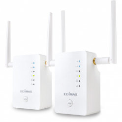 Karta sieciowa Edimax Gemini RE11 AC1200 Dual-Band Wi-Fi Roaming Kit, Wi-Fi Extender/AP/Bridge