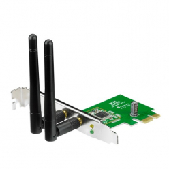 Karta sieciowa Asus PCE-N15 Wireless PCI-E card 802.11n, 300Mbps (2T2R)