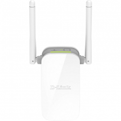 Punkt dostępu D-Link Wireless N300 Range Extender with 10/100 port and external antenna