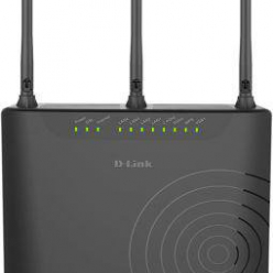 Router D-Link Wireless AC750 Dual-Band 4FE Port VDSL/ADSL Modem Router