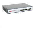 Switch 8level GEPS-1808  10'' i 19'' Rakowy PoE-af 8x10/100Mbps 1U
