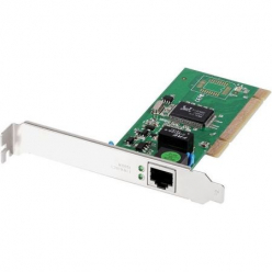 Karta sieciowa Edimax 32-bit Gigabit LAN Card, RJ45, additional low profile bracket incl.