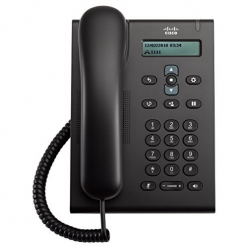 Telefon VOIP Cisco Unified SIP Phone 3905, Charcoal, Standard Handset