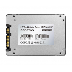 Dysk SSD Transcend  370S 128GB SATA3 2 5'' 7mm Read:Write550/170MB/sAluminum case
