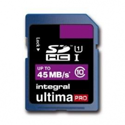 Integral karta pamięci 16GB ULTIMAPRO SDHC 45MB/S CLASS 10 UHS-I