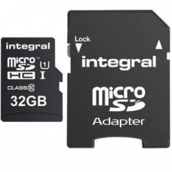 Integral micro SDHC/XC Cards CL10 32GB - Ultima Pro - UHS-1 90 MB/s transfer