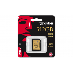 Kingston karta pamięci 512GB SDXC Class 10 UHS-I Ultimate (90/45 MB/s)