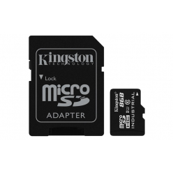 Karta pamięci Kingston 8GB microSDHC UHS-I Class 10 Industrial Temp Card + SD Adapter