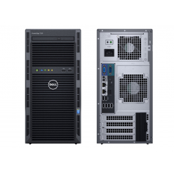 Serwer Dell PowerEdge T130 E3-1220v6 8GB 2x 1TB SATA H330 3yNBD + Kings DT100G3/128GB