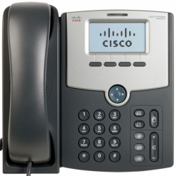Telefon VoIP Cisco 1-Line IP Phone with Display, PoE, PC Port