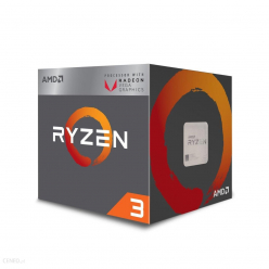 Procesor AMD Ryzen 3 2200G RX Vega Graphics 3.5Ghz 65W Wraith Stealth cooler