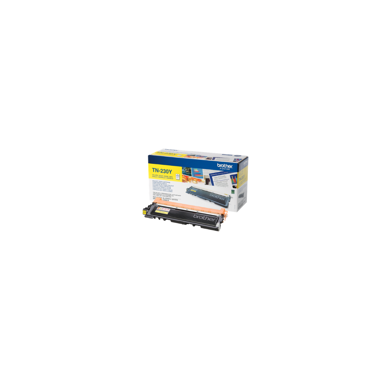 Toner Brother TN230Y yellow | 1 400 str.