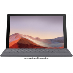 "Laptop Microsoft Surface Pro 7 12.3"" QHD i7-1065G7 16GB 512GB W10P czarny"