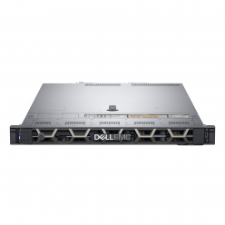 Serwer DELL PowerEdge R440 XS 4210 Chassis 8x 2.5in HotPlug 16GB 2x600GB Rails Bezel DVD Dual Port 1GbE On Board LOM PERC H730P iDRAC9 Ent 550
