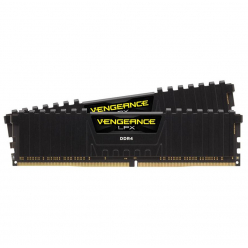 Pamięć Corsair DDR4 16GB Kit 2x8GB Vengeance LPX DIMM 3200MHz CL16 black