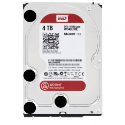Dysk HDD WD Red 4TB SATA 6Gb/s 256MB Cache Internal 8.9cm 3.5Inch 24x7 IntelliPower optimized for SOHO NAS systems 1-8 Bay HDD Bulk