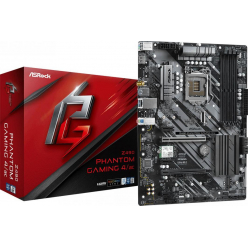 Płyta główna ASRock Z490 Phantom Gaming 4 Socket 1200 ATX MB DDR4 4400MHz+ 2 PCIe 3.0x16 7.1 CH HD Audio MB