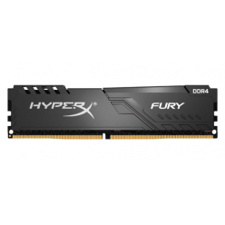 KINGSTON 16GB 2666MHz DDR4 CL16 DIMM HyperX FURY Black