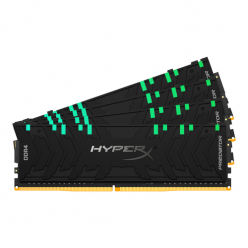KINGSTON 64GB 3600MHz DDR4 CL17 DIMM Kit of 4 XMP HyperX Predator RGB