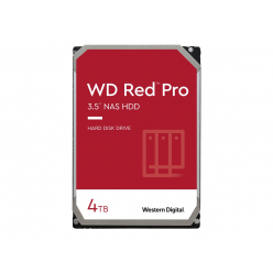 Dysk HDD WD Red Pro, 3.5, 4TB, SATA/600, 7200RPM, 256MB cache