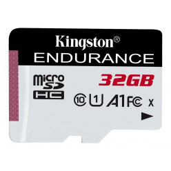 Karta pamięci Kingston 32GB microSDHC Endurance 95R/30W C10 A1 UHS-I Card OnlyK
