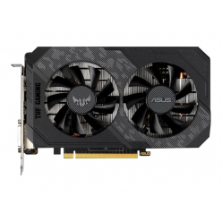 Karta graficzna ASUS TUF Gaming NVIDIA GeForce GTX 1650 Gaming Graphics Card PCIe 3.0 4GB GDDR6 memory HDMI DisplayPort DVI-D 1x 6-pin power connect