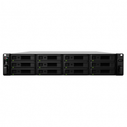Synology RS3618xs, 12-Bay Xeon D-1521 4C 2,4GHz, 8GB ECC, 4xGbE, 2xUSB 3.0
