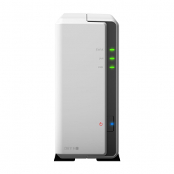 Synology DS119j, 4-Bay SATA, Marvell 2C 800 MHz, 256MB, 1xGbE LAN, 2xUSB 2.0
