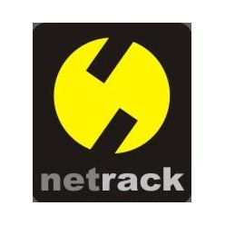 Netrack półka 19'' 1U/650mm, grafit