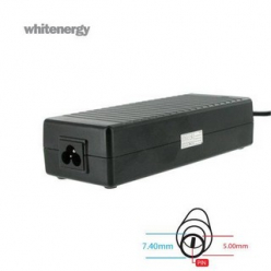 Whitenergy zasilacz 19.5V/6.7A 130W wtyczka 7.4x5.0mm + pin Dell