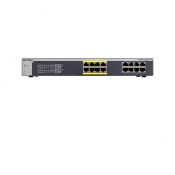 Switch  Netgear ProSafe Plus 16-Port, 8xPOE, Gigabit Rack budget 85W (JGS516PE)